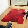 Tapis design en laine géométrique pour salon Collage