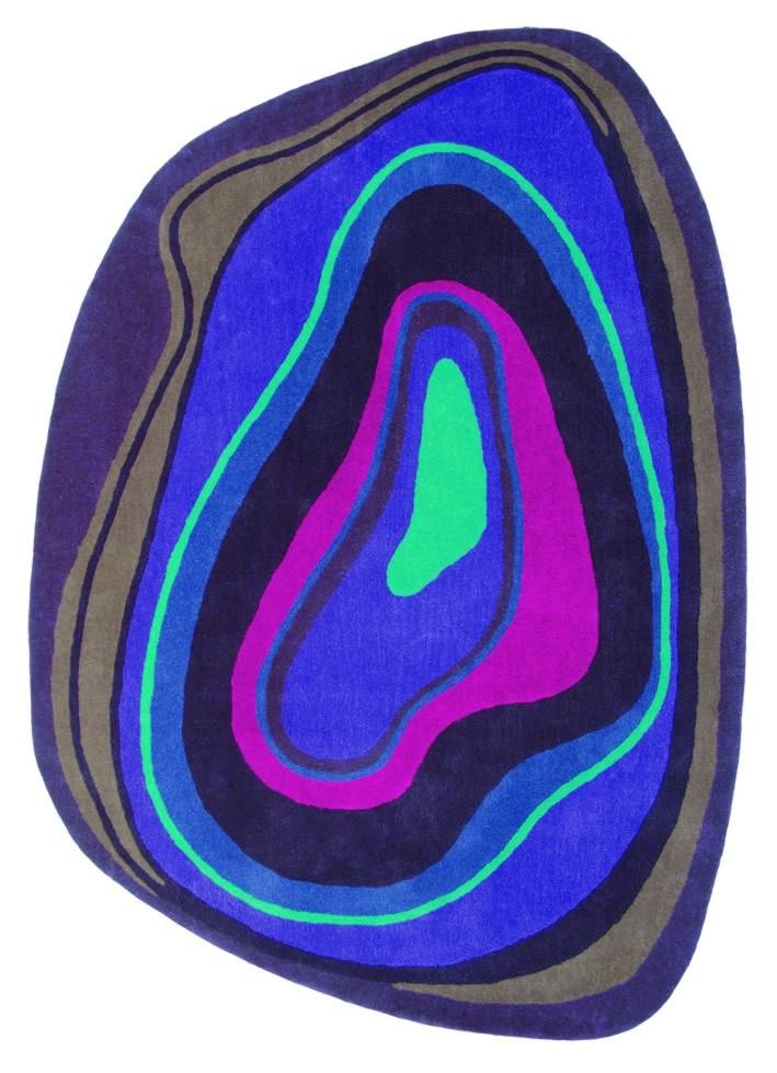 Tapis violet Xian Slice Brink & Campman