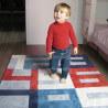 Tapis bébé bleu Puzzle Chiffre Art For Kids
