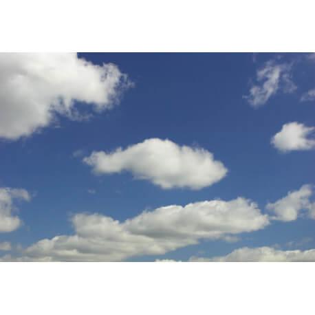 Tapis à courtes mèches en polyamide Cloud