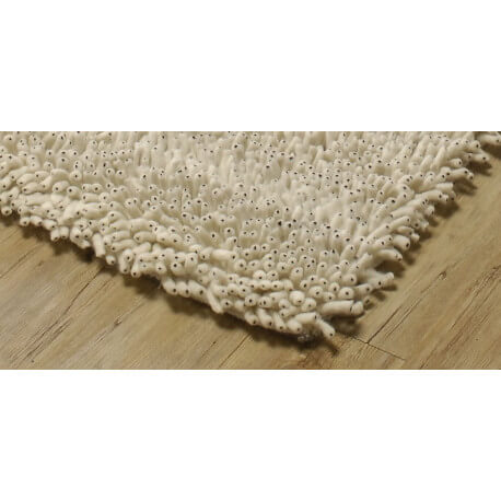 Tapis en laine longues mèches Fabre