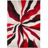 Tapis en polyester moderne pour salon Splinter