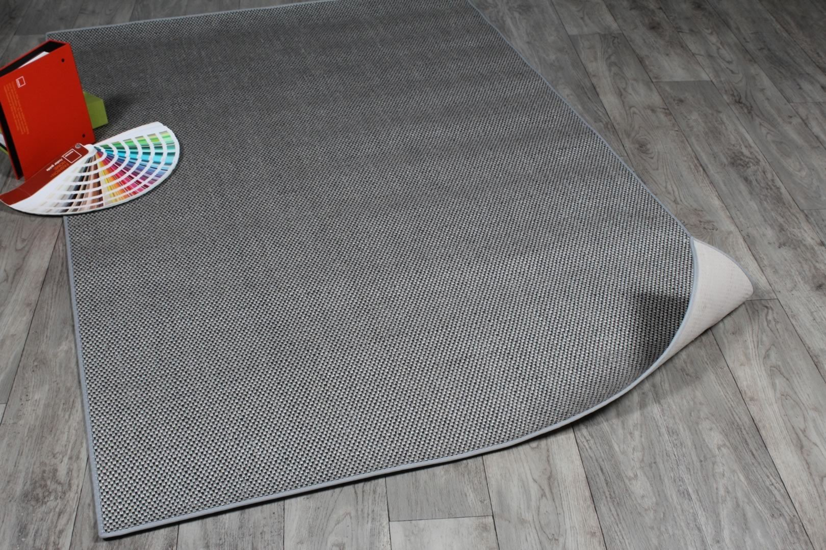 Tapis rectangulaire titane Marvin