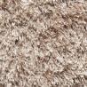 Tapis à longues mèches uni gris Darwin