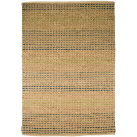 Tapis plat en coton et jute naturel rectangle Seagrass