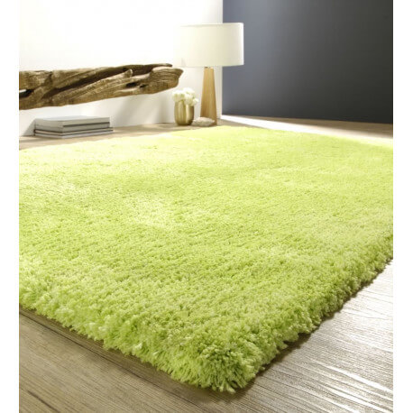 tapis doux shaggy vert cosy. Black Bedroom Furniture Sets. Home Design Ideas