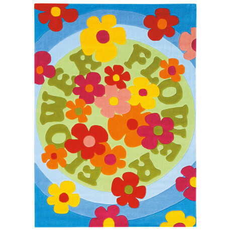 Tapis feel the groove flowers par Arte Espina