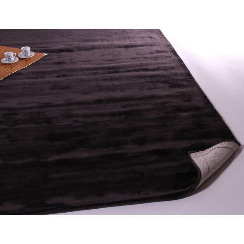 tapis gris fonc aux velours fins marius. Black Bedroom Furniture Sets. Home Design Ideas