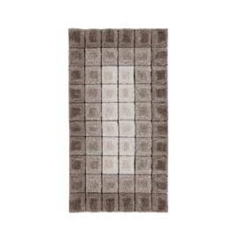 Tapis design intérieur cubique shaggy Cube