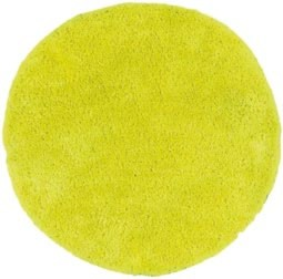 tapis rond jaune fluo design las vegas par papilio. Black Bedroom Furniture Sets. Home Design Ideas