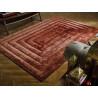 Tapis shaggy design effet 3D pour salon Ridge