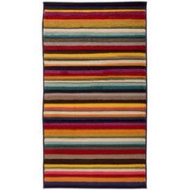 Tapis rayé pour salon design multicolore Tango