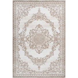 Tapis avec franges baroque pour salon rectangle Salt Lake