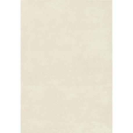 Tapis en polyester microfibre blanc Dolce par Papilio