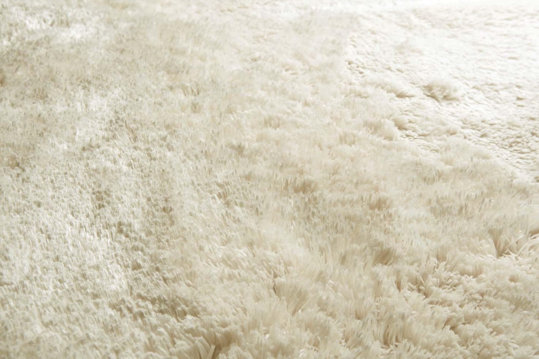tapis blanc shaggy uni lucca par papilio. Black Bedroom Furniture Sets. Home Design Ideas