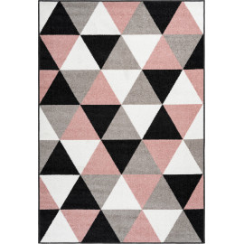 Tapis scandinave rectangle géométrique Lubbock