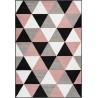 Tapis scandinave rectangle géométrique Lubbock