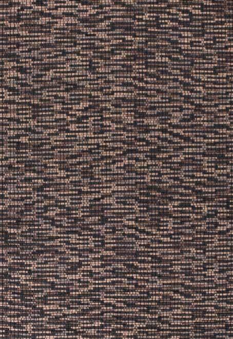 Tapis en laine sur dossier coton Granite par Papilio