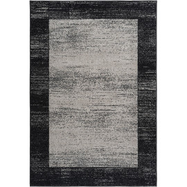 Tapis contemporain à mèches courtes rectangle Durham