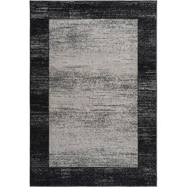 Tapis contemporain à mèches courtes rectangle Durham