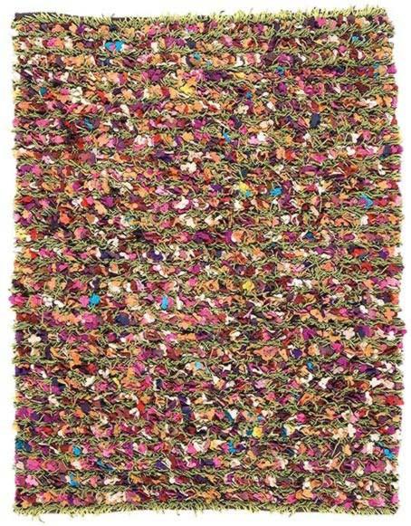 Tapis multicolore de salon Season 2 par Papilio