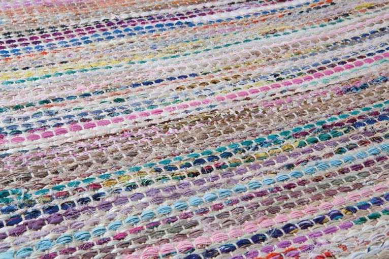 Tapis en polyester et fibres naturelles Brazil par Papilio