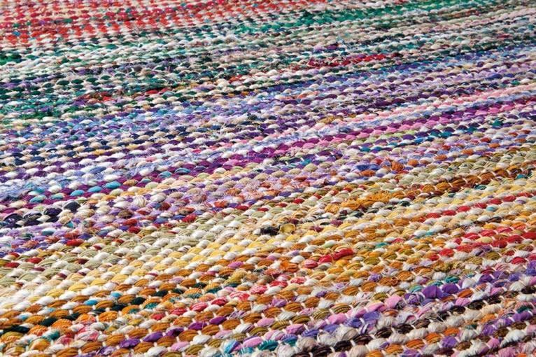 Tapis multicolore de chambre Brazil par Papilio