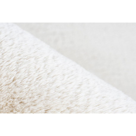 Tapis extra doux en polyester uni rectangle Emotion
