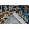 Tapis rayé bleu pour salon vintage rectangle Norfolk