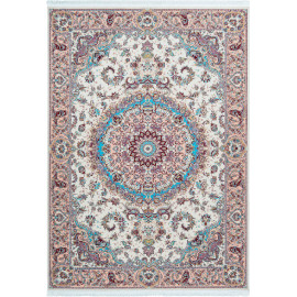 Tapis d'orient avec franges de grande qualité rectangle Raleigh