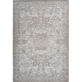 Tapis rectangle vintage rayé pour salon Fremont