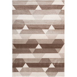 Tapis scandinave polypropylène rectangle graphique Modesto
