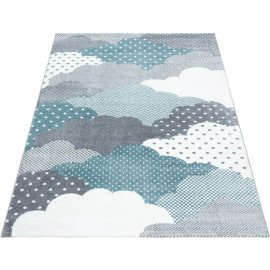 Tapis pour chambre d'enfant rectangle Cloud