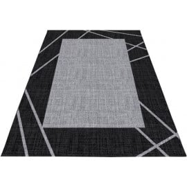 Tapis contemporain en polypropylène rectangle Zout