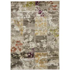 Tapis patchwork pour intérieur multicolore Chieti