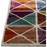 Tapis scandinave rectangle multicolore graphique Acireale
