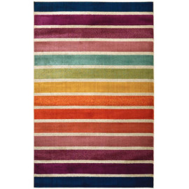 Tapis ligne pour salon design rectangle multicolore Avellino