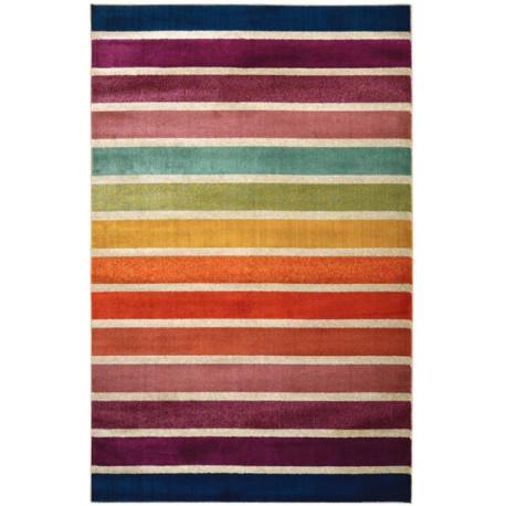 Tapis ligne pour salon design rectangle multicolore Avellino