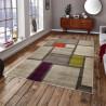 Tapis géométrique pour salon multicolore design Modica