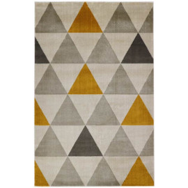 Tapis scandinave graphique intérieur rectangle Sanremo