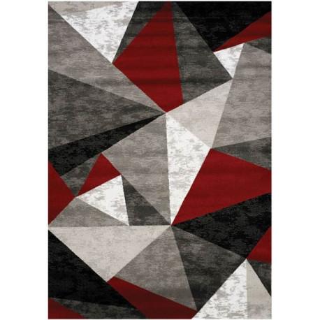 Tapis géométrique scandinave rectangle multicolore Tivoli