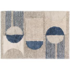 Tapis en laine lavable en machine graphique intérieur Sun Rays Lorena Canals