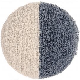 Pouf en laine lavable en machine Sun Rays Lorena Canals