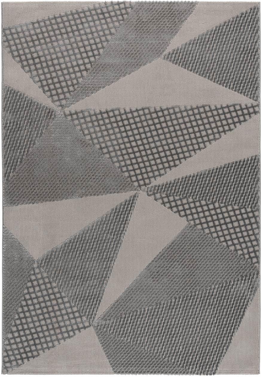 Tapis graphique pour salon moderne en polyester Bruxelles
