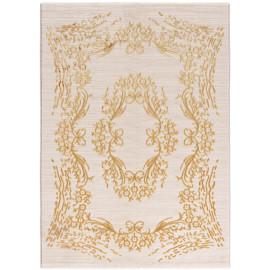 Tapis en polyester baroque avec effet 3D brillant Ath