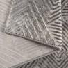 Tapis design géométrique intérieur avec effet 3D Brée