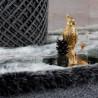 Tapis doux moderne shaggy pour intérieur rectangle Cirus