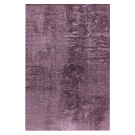 Tapis extra doux rectangle polyester uni Mistara
