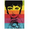 Tapis multicolore pour salon Street Art Arte Espina