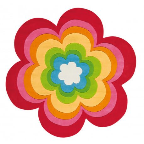 Tapis enfant multicolore Love'n Peace Arte Espina
